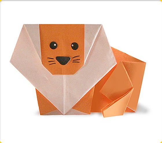 すべての折り紙 折り紙 ライオンの折り方 : ... &立体で難しい折り方まとめ