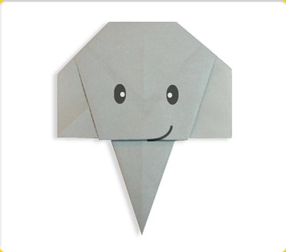 クリスマス 折り紙 折り紙 ぞう : origami-mobile.com