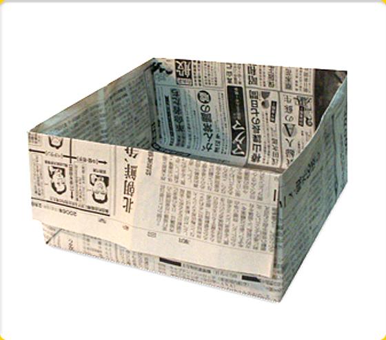 すべての折り紙 折り紙 ゴミ箱 チラシ : 折り紙で作れる箱のアイデア集 ...