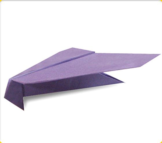 とんびひこうき|紙飛行機の折り紙